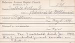 Trabbold, Mr. Arthur by Delaware Avenue Baptist Church
