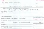 Schultz, Mr. Stewart O by Delaware Avenue Baptist Church