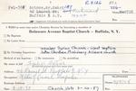 Antone, Mr. Sabi by Delaware Avenue Baptist Church