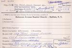 VanThiel, Mr. Henri by Delaware Avenue Baptist Church