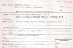 MembershipCards: U-V by Delaware Avenue Baptist Church