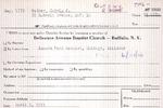 MembershipCards: W-Z by Delaware Avenue Baptist Church