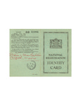 British National Registration Identity Card for Zofia  Drzewieniecka
