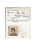 U.S. Passport: Zofia Anna Drzewieniecki. Issued August 30, 1974. by U.S Government