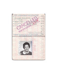 U.S. Passport: Zofia Anna Drzewieniecki. Issued July 5, 1979 by U.S Government