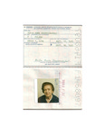 U.S. Passport: Zofia Anna Drzewieniecki. Issued September, 11th, 1985. by U.S Government
