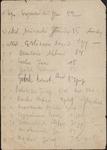 List of Platoon Members Under 2nd Lieutenant Drzewieniecki's Command by Walter Drzewieniecki