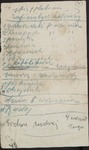 List of Soldiers Who Became Separated from the 1st Platoon, 4th Company, 84th Poleski Rifle Regiment by Walter Drzewieniecki