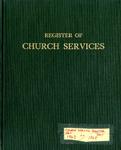 Parish Register; 1963-1968