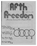 Fifth Freedom, 1974-04-14 by The Mattachine Society of the Niagara Frontier