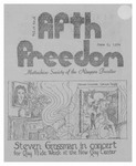 Fifth Freedom, 1974-06-09 by The Mattachine Society of the Niagara Frontier
