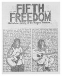Fifth Freedom, 1974-07-07 by The Mattachine Society of the Niagara Frontier