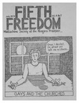 Fifth Freedom, 1974-07-23 by The Mattachine Society of the Niagara Frontier