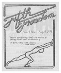 Fifth Freedom, 1974-08-18 by The Mattachine Society of the Niagara Frontier