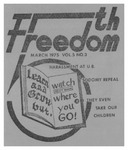 Fifth Freedom, 1974-03-01 by The Mattachine Society of the Niagara Frontier