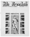 Fifth Freedom, 1975-11-01 by The Mattachine Society of the Niagara Frontier