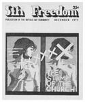 Fifth Freedom, 1975-12-01 by The Mattachine Society of the Niagara Frontier
