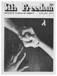 Fifth Freedom, 1976-01-01 by The Mattachine Society of the Niagara Frontier