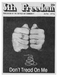 Fifth Freedom, 1976-06-01 by The Mattachine Society of the Niagara Frontier