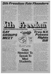 Fifth Freedom, 1979-01-01 by The Mattachine Society of the Niagara Frontier