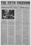 Fifth Freedom, 1981-07-01 by The Mattachine Society of the Niagara Frontier