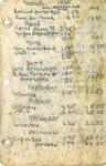 Board Meeting Minutes; Deacons Deaconesses; April 1944-Sept. 1949