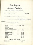 Pilgrim Church Register; 1956-1957