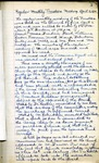 Board of Trustees Minutes; 1930-1938