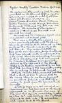 Board of Trustees Minutes; 1930-1938 by First Presbyterian Church of Niagara Falls