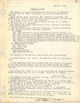 Session Minutes; 1945-1954