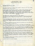 Session Minutes; 1961-1974