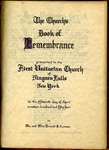 Book of Rememberence; 1954 by First Unitarian Universalist Church of Niagara Falls