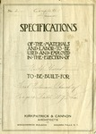 Construction Records; Specifications of Materials-Labor; undated c. 1950 by First Unitarian Universalist Church of Niagara Falls