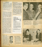 Scrapbook; Newspaper Clippings; 1967-1970