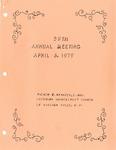 Annual Meeting; 1979-04-06