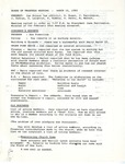 Board of Trustee Meeting; 1983-03-16