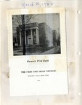 Pamphlet; Capital Improvement Campaign; 1955-03-14 by First Unitarian Universalist Church of Niagara Falls
