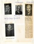 Photographs; Former Pastors; 1955 by First Unitarian Universalist Church of Niagara Falls