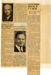 Scrapbook; Newspaper Clippings; 1953-1959 by First Unitarian Universalist Church of Niagara Falls