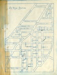 Maps; Niagara Falls; Member Map; 1935 by First Baptist Church of Niagara Falls