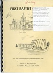 Church Directory; 125th Anniversary; 1967 by First Baptist Church of Niagara Falls