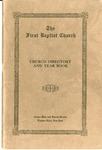 Church Directory; 1928