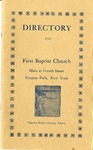 Church Directory; 1932