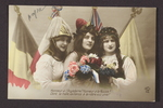 Honor to the Allies (1) by WWI Postcards from the Richard J. Whittington Collection