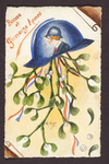 Happy New Year (1) by WWI Postcards from the Richard J. Whittington Collection