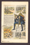 German soldier's thoughts (1) by WWI Postcards from the Richard J. Whittington Collection