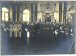 Formal reception at the Belvedere by The Francis Fronczak Collection