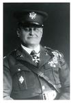 Major Francis Eustachius Fronczak seated in uniform with decorations.