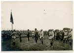 Presenting the flag (1) by The Francis Fronczak Collection