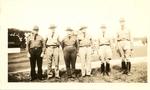 Six military men